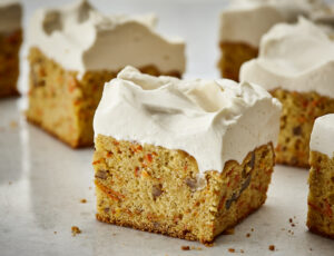 Gâteau aux carottes au sucre d'érable