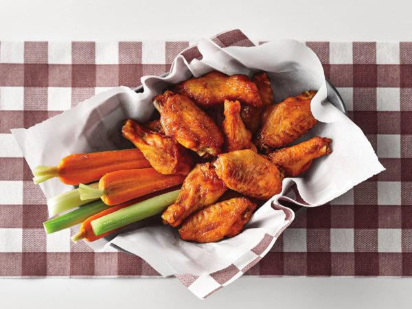 Recette — Ailes de poulet à l'érable