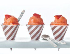 Barbotine à la fraise et à l'érable