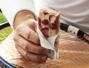 Barres tendres aux fraises et à l'érable