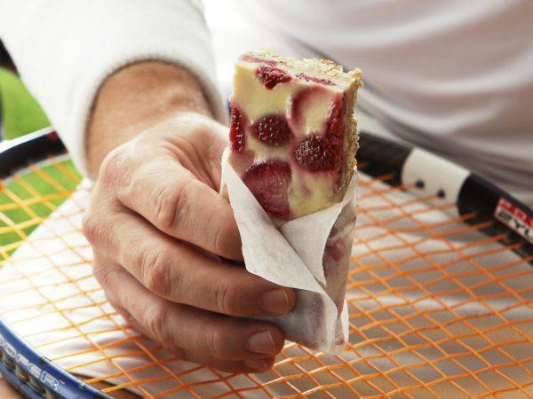 Recette — Barres tendres aux fraises et à l'érable