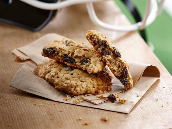 Recette — Biscuits à l'érable, à l'avoine et aux raisins