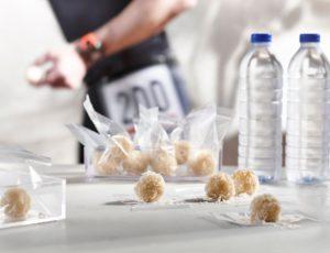 Boules de riz érable-coco