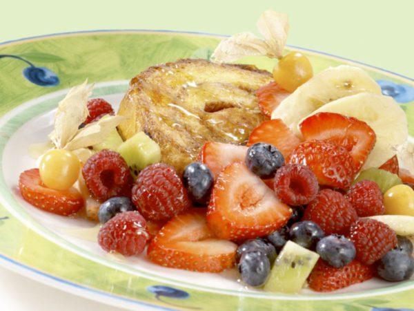 Recette — Brioches aux fruits à l'érable