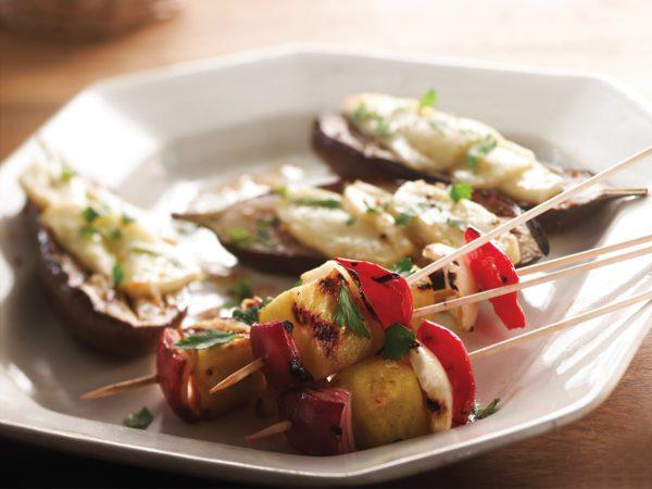 Recette — Brochettes de fenouil et ananas à l'érable