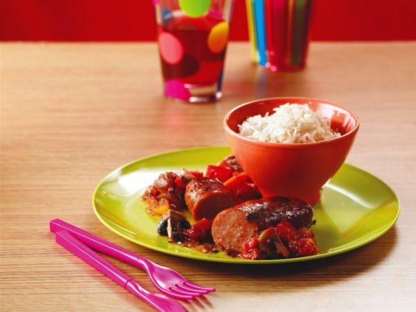 Recette — Chaudronnée de saucisses à l'érable