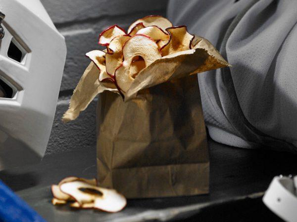 Recette — Chips de pommes à l'érable