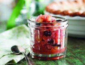 Compotée d'oignons aux fruits secs et à l'érable