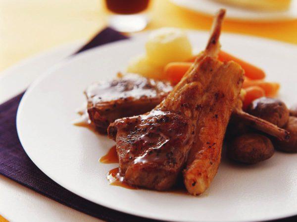 Recette — Côtelettes d'agneau, sauce à l'érable