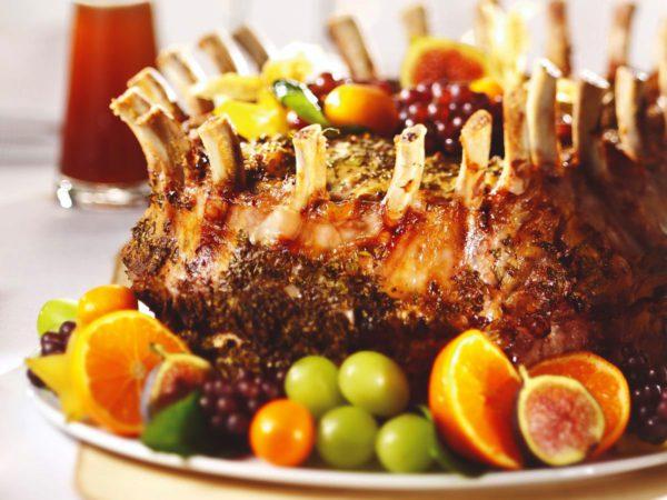 Recette — Couronne de porc à la moutarde et à l'érable