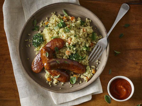 Recette — Couscous aux saucisses à l'érable