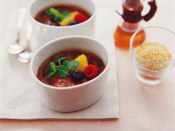 Recette — Crème brûlée au thé et à l'érable