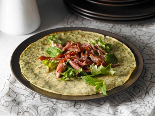 Recette — Crêpes au kale et au sirop d'érable