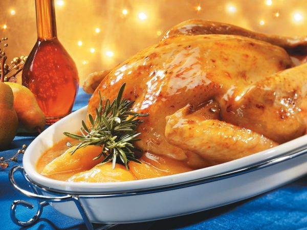 Recette — Dinde glacée à la poire et à l'érable
