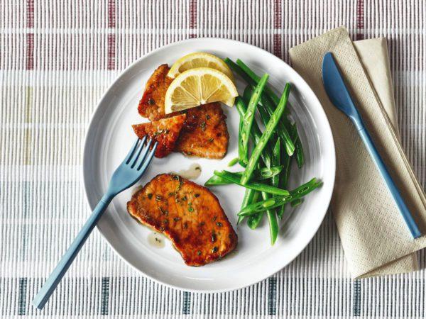 Recette — Escalopes de veau à l'érable et au citron
