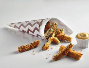 Frites de courgette à l'érable