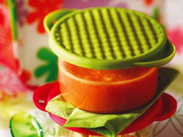 Recette — Gaspacho orange à l'érable