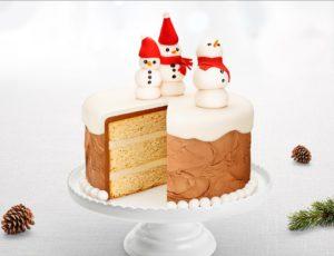 Gâteau à l'érable, à la crème pâtissière et au chocolat