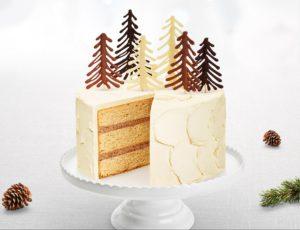 Gâteau à l'érable, aux noisettes et au chocolat
