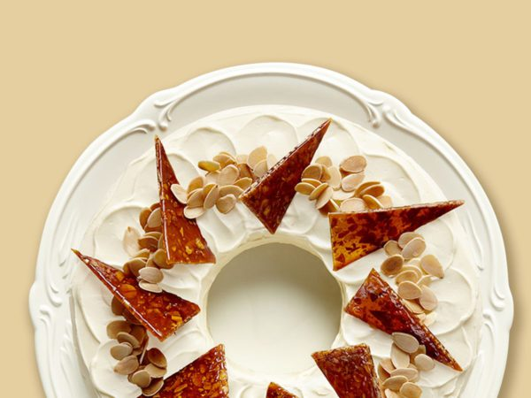 Recette — Gâteau à l'érable et à la pâte d'amande