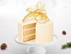 Gâteau à l'érable et au mascarpone