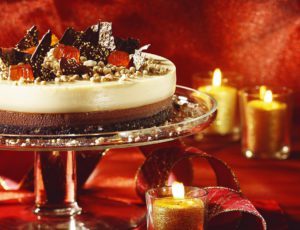 Gâteau fondant à l'érable et au chocolat noir