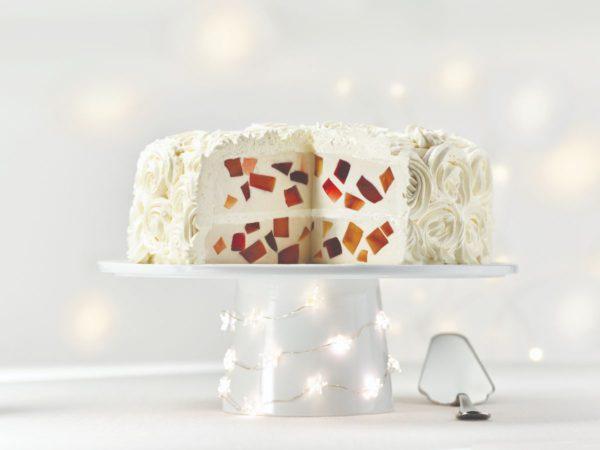 Recette — Gâteau panna cotta aux deux gelées à l'érable