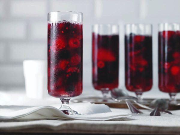 Recette — Gelée d'eau d'érable aux petits fruits