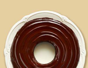 Glaçage au chocolat noir et à l'érable