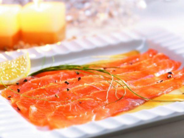 Recette — Gravlax de saumon à l'érable