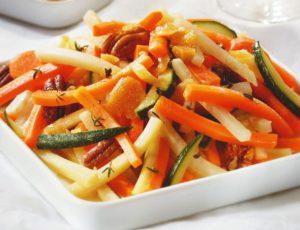 Légumes caramélisés à l'érable