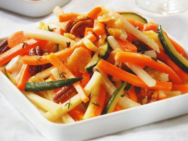 Recette — Légumes caramélisés à l'érable