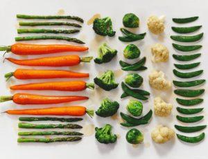 Légumes glacés à l'érable