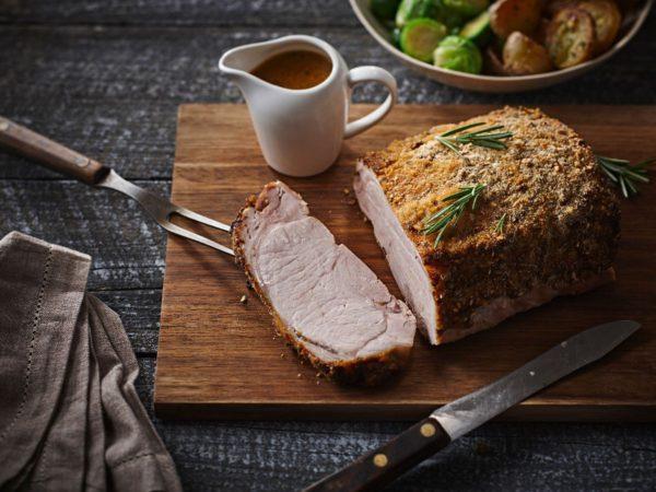 Recette — Longe de porc à l'érable et au romarin
