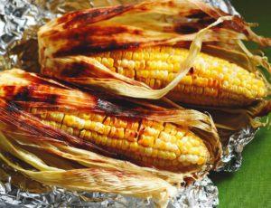 Maïs grillés à l'érable