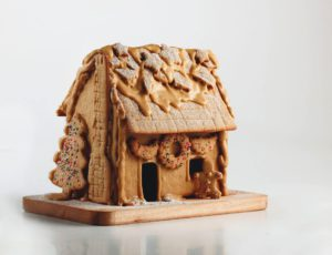 Maison d'antan en pain d'épice