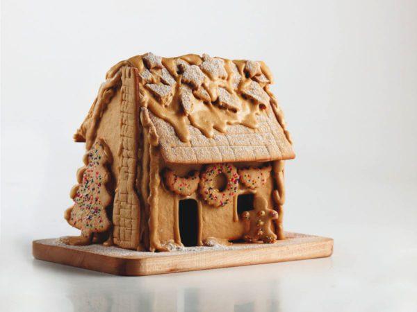 Recette — Maison d'antan en pain d'épice