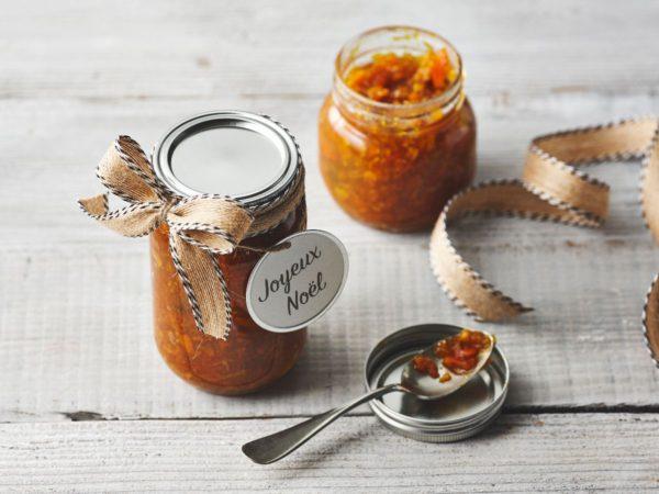 Recette — Marmelade à la clémentine vanillée et à l'érable