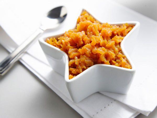 Recette — Marmelade de carottes à l'eau d'érable