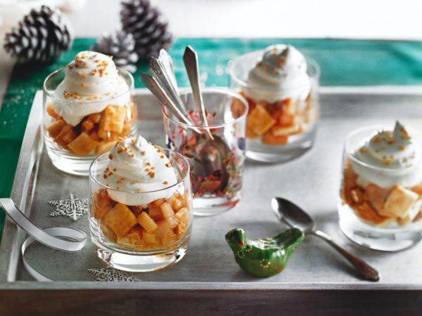 Recette — Mini-parfaits de poires à l'érable