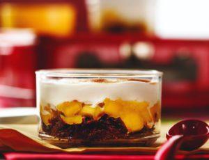 Mini pâté chinois-dessert à l'érable