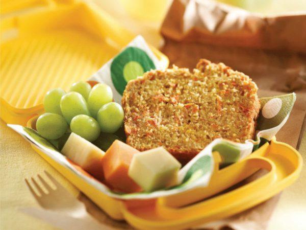 Recette — Pain de légumes à l'érable