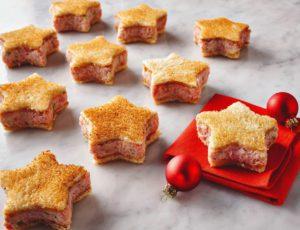 Petits sandwichs de Noël à l'érable
