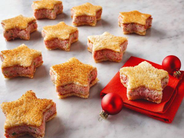 Recette — Petits sandwichs de Noël à l'érable