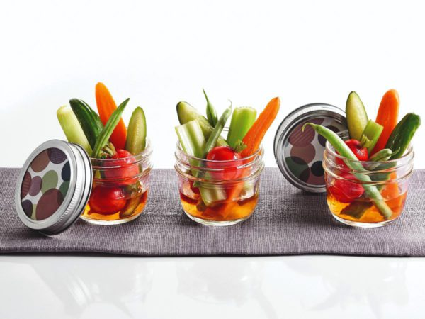 Recette — Pickles de légumes Yum-Yum à l'érable