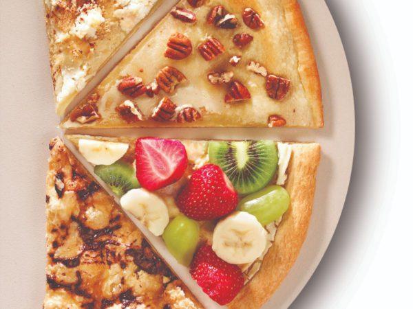 Recette — Pizza-dessert à l'érable et au chocolat