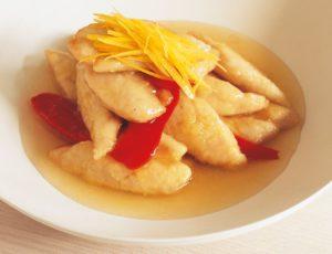 Poitrines de poulet dans une sauce érable et citron