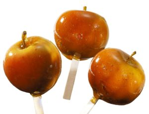 Pommes caramel à l'érable