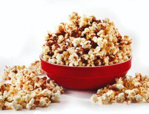 Popcorn aux noix et à l'érable