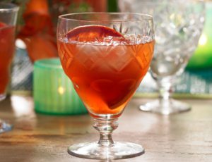 Punch Campari, érable et orange sanguine